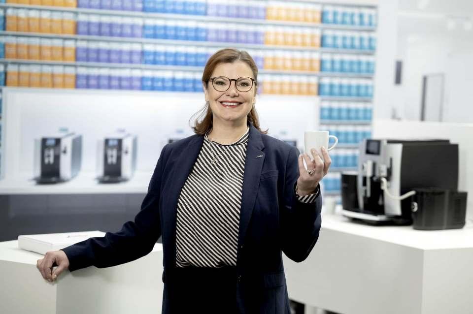 Kursleiterin Anatia Hadulla vermittelte das Kaffee- und Technologiewissen rund um Jura kurzweilig, kompetent und unterhaltsam.