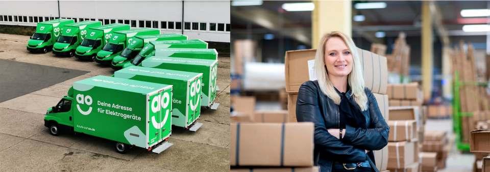 """Gisela Cousland, Mitgründerin und Geschäftsführerin von """"deinSchrank.de"""", setzt ab sofort auf die Logistik-Expertise von AO."""