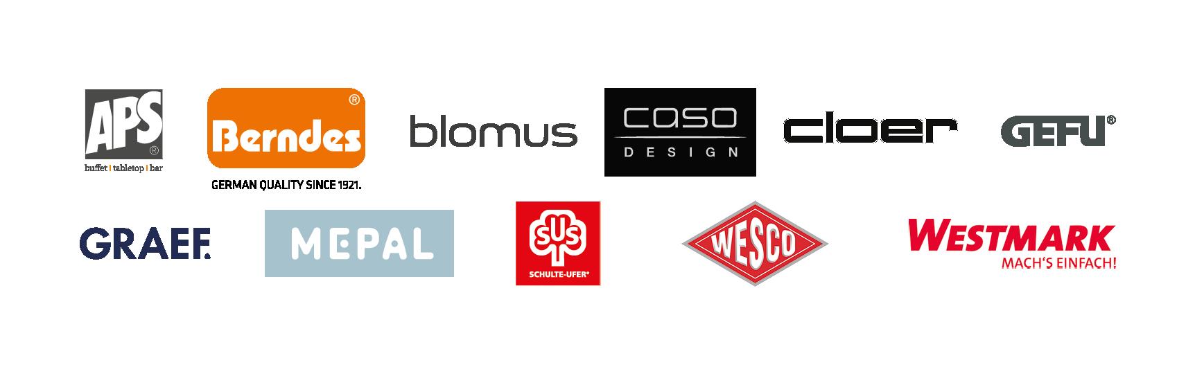Ausstellerlogos Brands@home