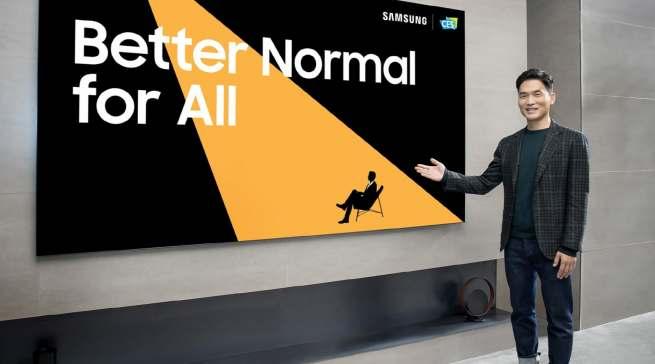 """Die Samsung-Vision """"A Better Normal"""" beginnt und endet mit dem Menschen."""