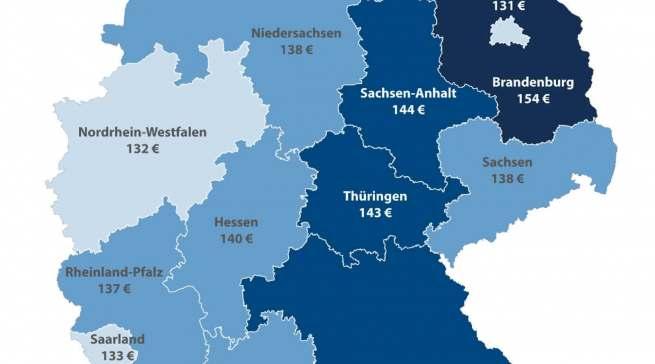 Spendierfreudig zu Weihnachten: Bürger aus Brandenburg und Mecklenburg-Vorpommern.