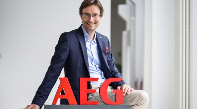 Michael Geisler ist seit Mai 2019 Geschäftsführer für Electrolux Hausgeräte in Deutschland und als Cluster Manager für Deutschland und Österreich verantwortlich.