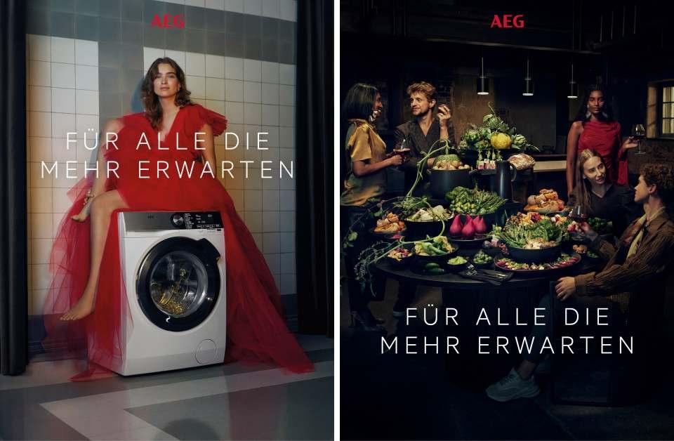 Kampagne Keyvisual Care & Taste Montage