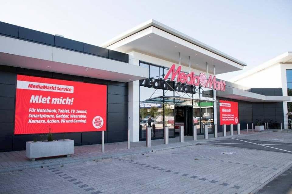 Branchenprimus in Sachen Verbraucherempfehlung: MediaMarkt (unser Foto zeigt den Markt in Leer).