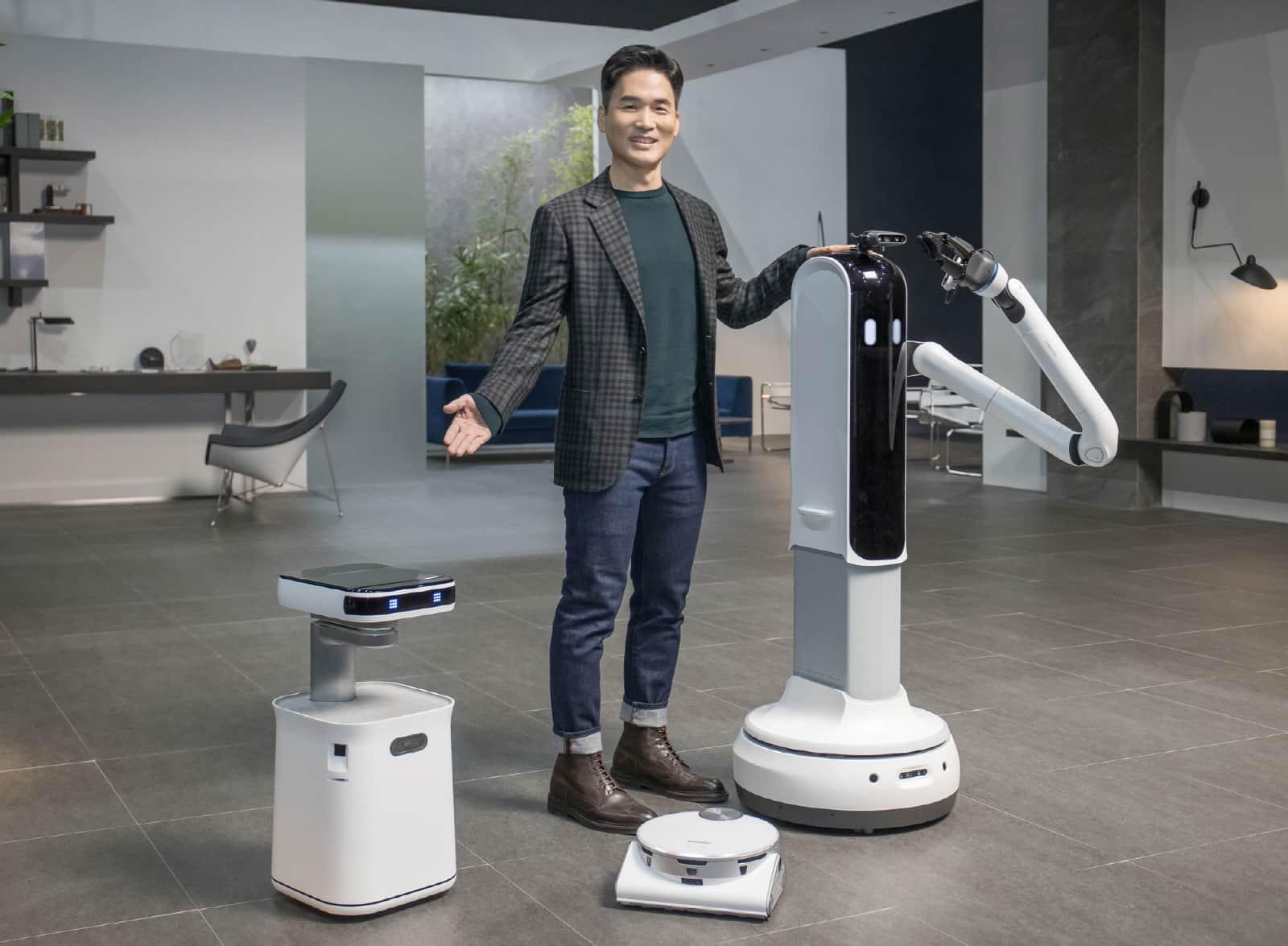 KI und Robotik stellen bei Samsung einen wichtigen Teil für die Arbeit an einer besseren Zukunft dar.
