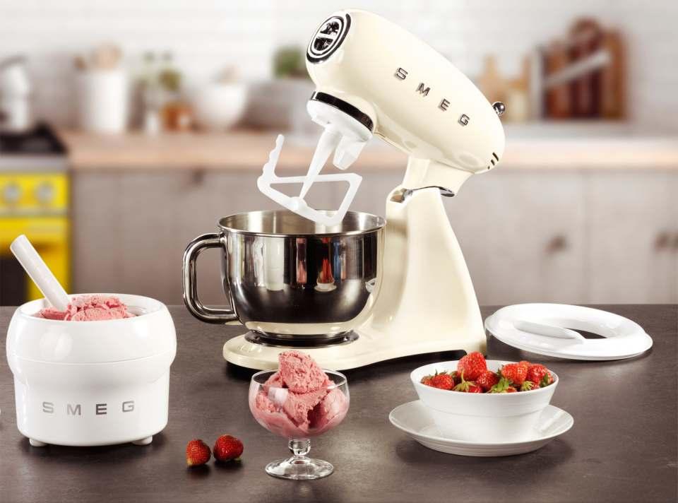 Smeg Eisbereiter für die Küchenmaschine von Smeg.