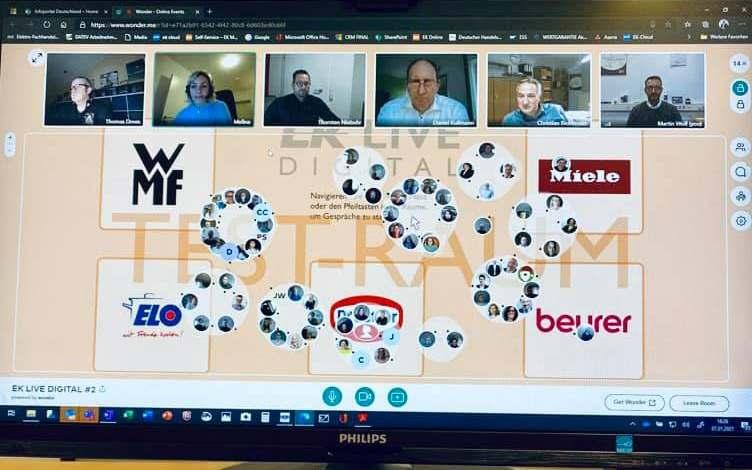 """infoboard.de durfte vorgestern schon mal auf die Messe-Plattform schauen: """"Wonder"""" bietet ein neues, intuitives wie digitales Messe-Erlebnis."""