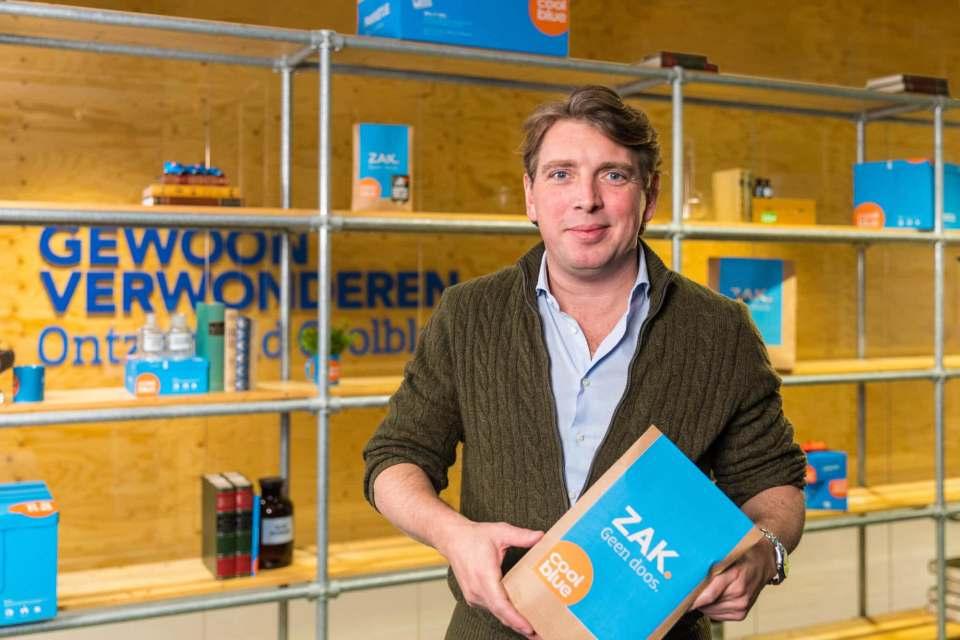 Weiter auf Expansionskurs: Pieter Zwart, Gründer und CEO von Coolblue.