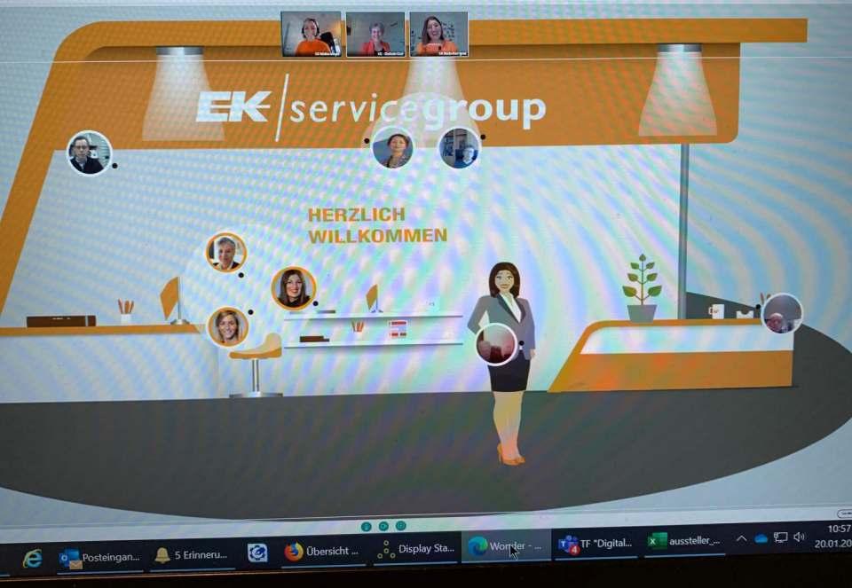 Entspannter, corona-konformer Messebesuch: Wie das geht, hat die EK/servicegroup mit der EK LIVE vor zwei Wochen eindrucksvoll gezeigt.