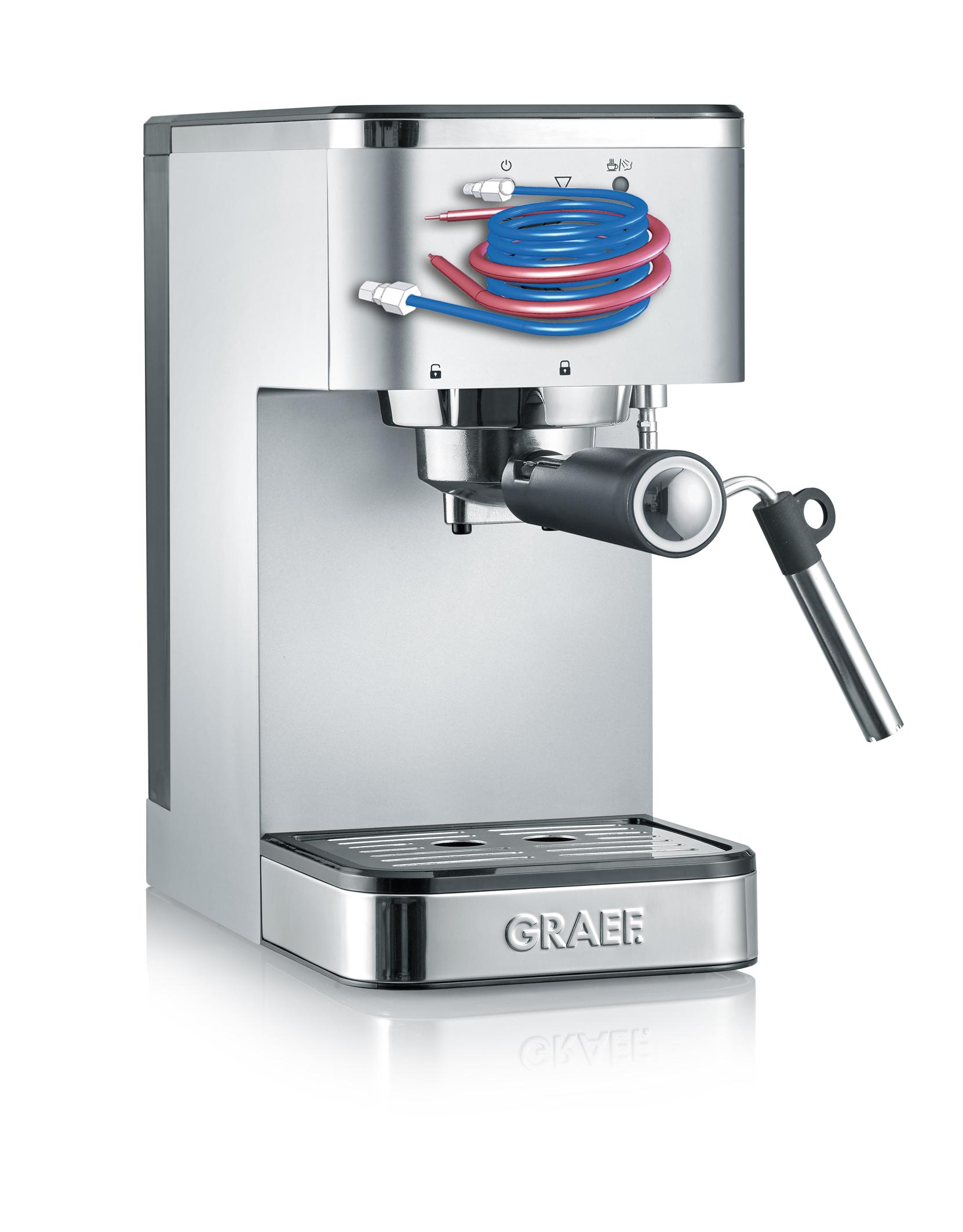 GRAEF Siebträger-Espressomaschine salita ES400
