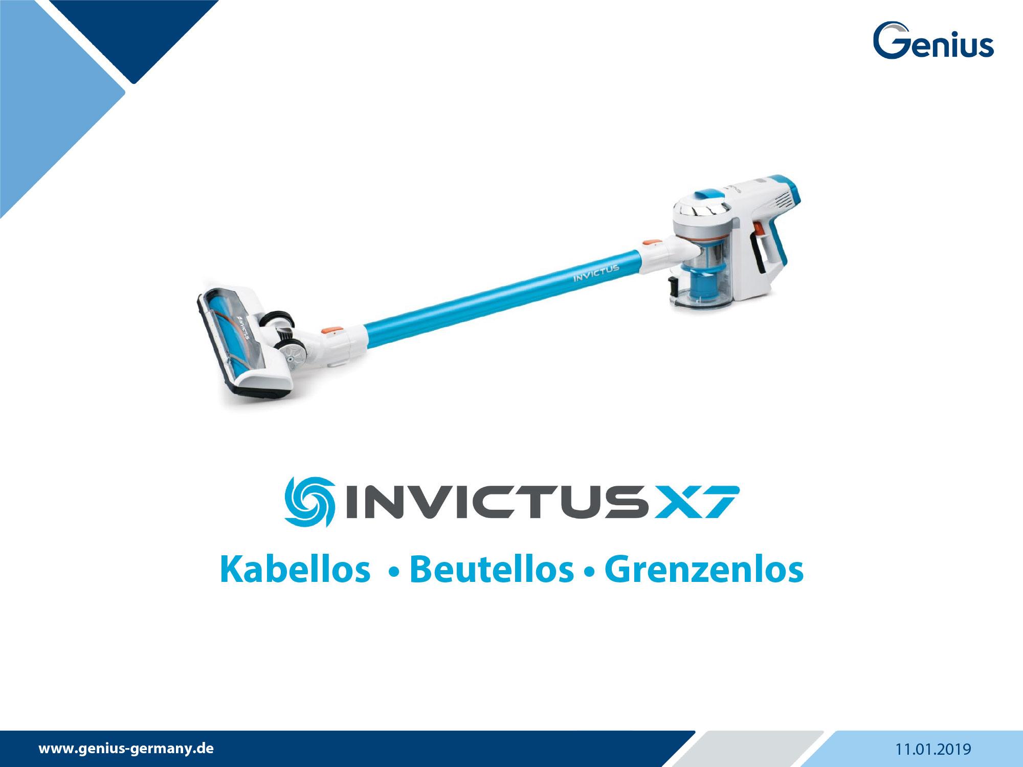 Genius InvictusX7