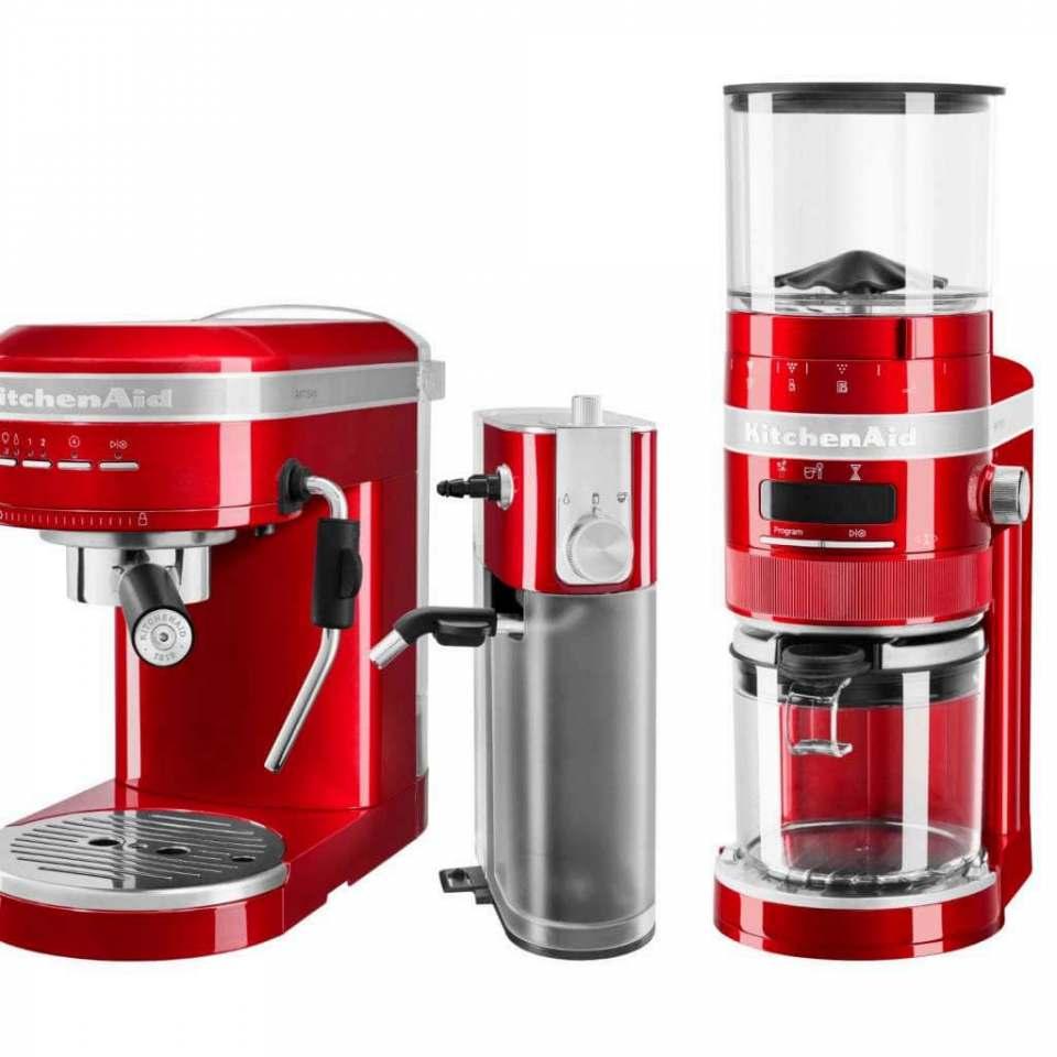 Markteinführung verschoben: Neues Espresso-Sortiment von KitchenAid.