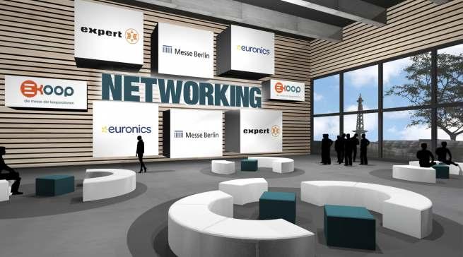 Auch das Networking soll auf der virtuellen KOOP nicht zu kurz kommen.