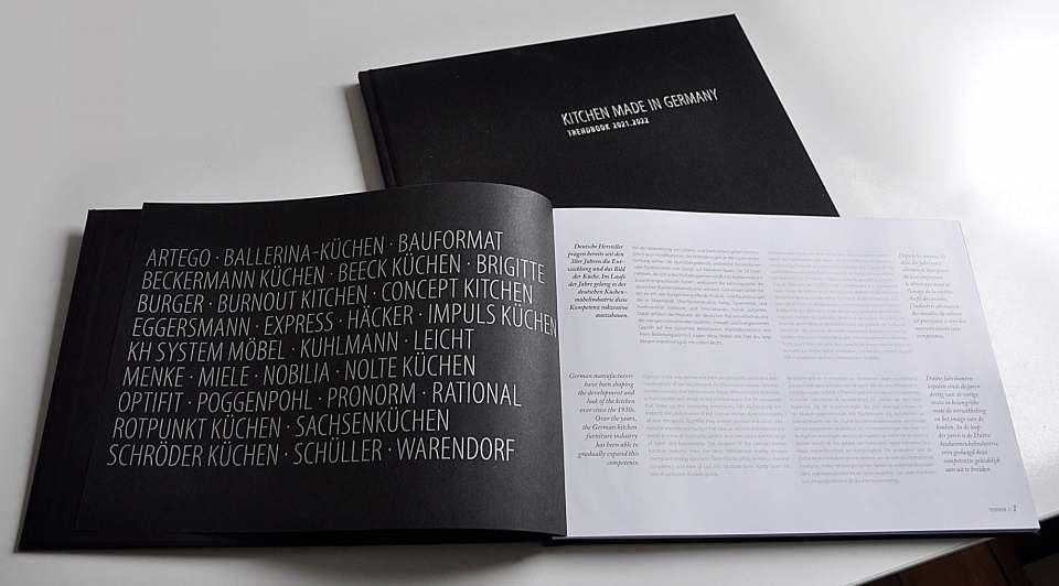 """Das """"Trendbook"""" vermittelt einen Vorgeschmack auf die Küchenmeile A30 im Herbst."""