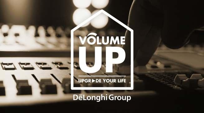 """Noch lauter werden: Das Jahr 2021 stellt De'Longhi unter das Motto """"Volume Up""""."""