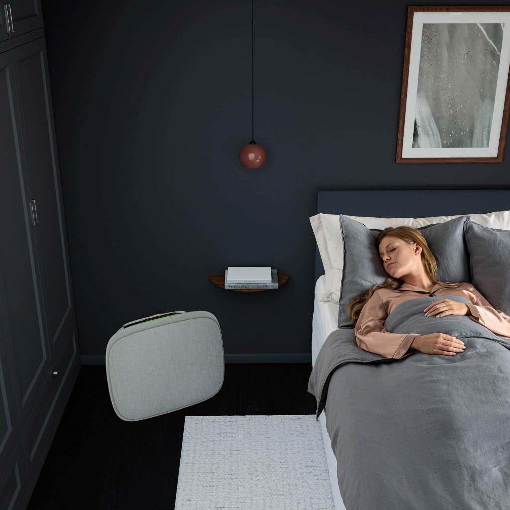 Flüsterleise in der Nacht: Auch der Schlaf kann mit guter Luft nur besser werden.