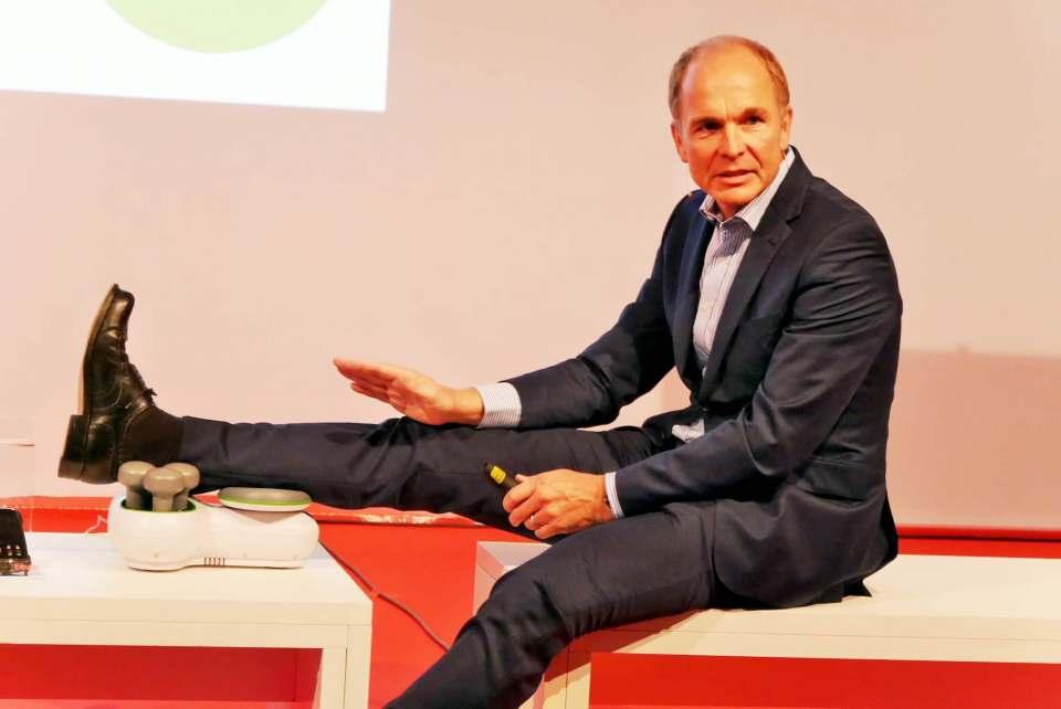 Gab und gibt für Beurer alles: Georg Walkenbach