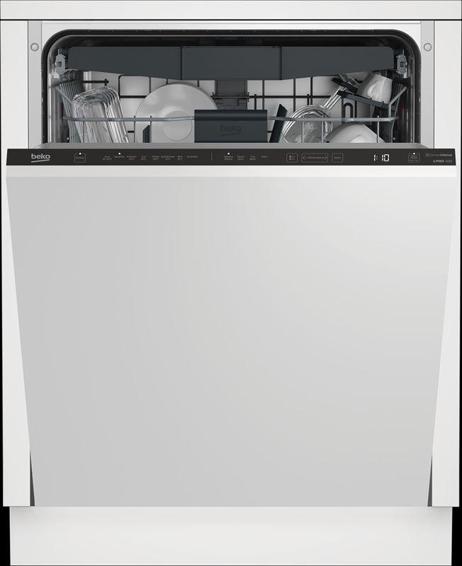 Beko Geschirrspüler BDIN38530C mit Extra Hygiene-Funktionen.