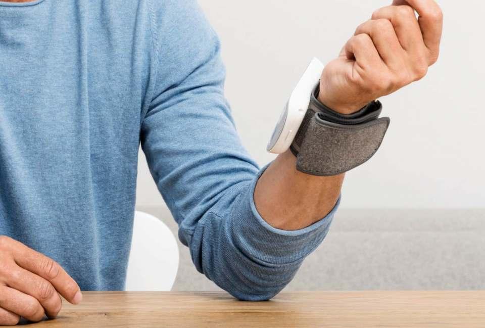 Kontrolle am Handgelenk: Beurer Blutdruckmessgerät BC 51.