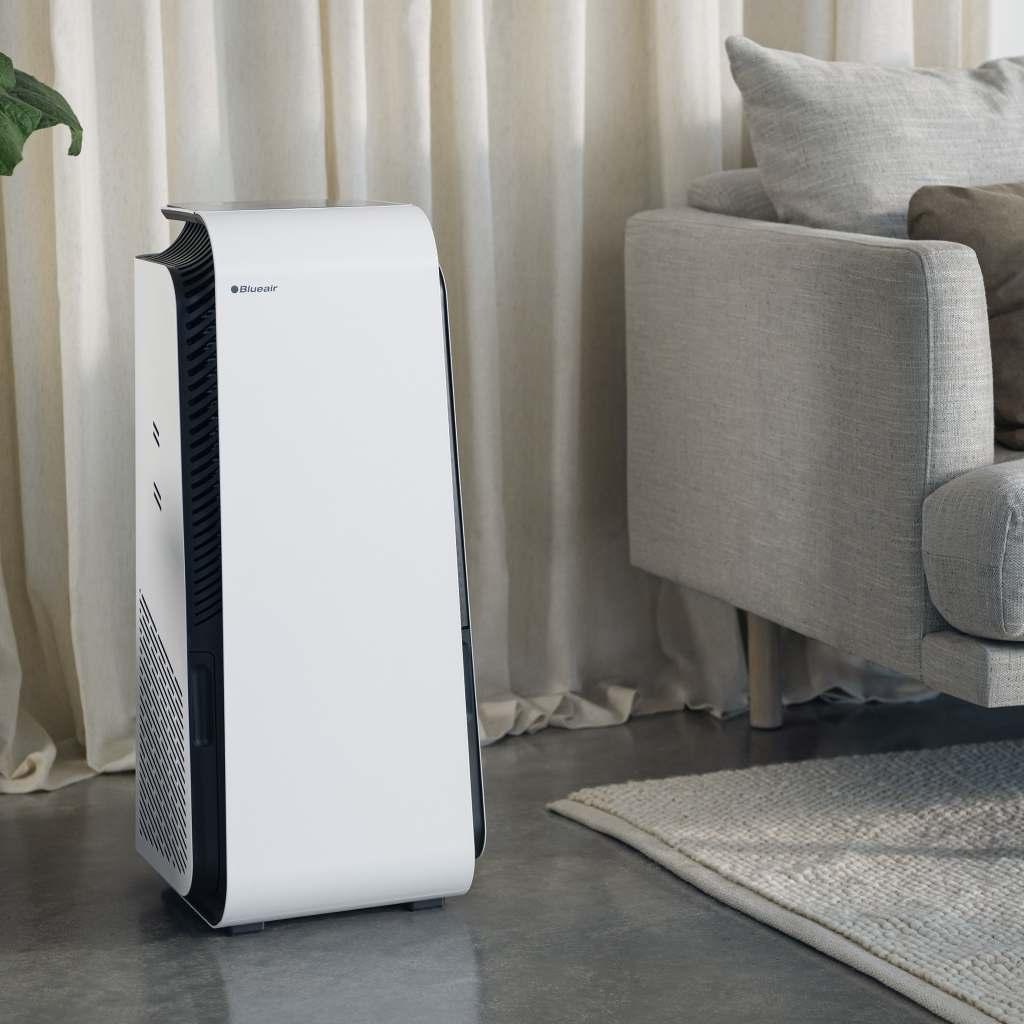 Gehen fast schon als Designobjekt durch: die Luftreiniger der HealthProtect™-Serie von Blueair.