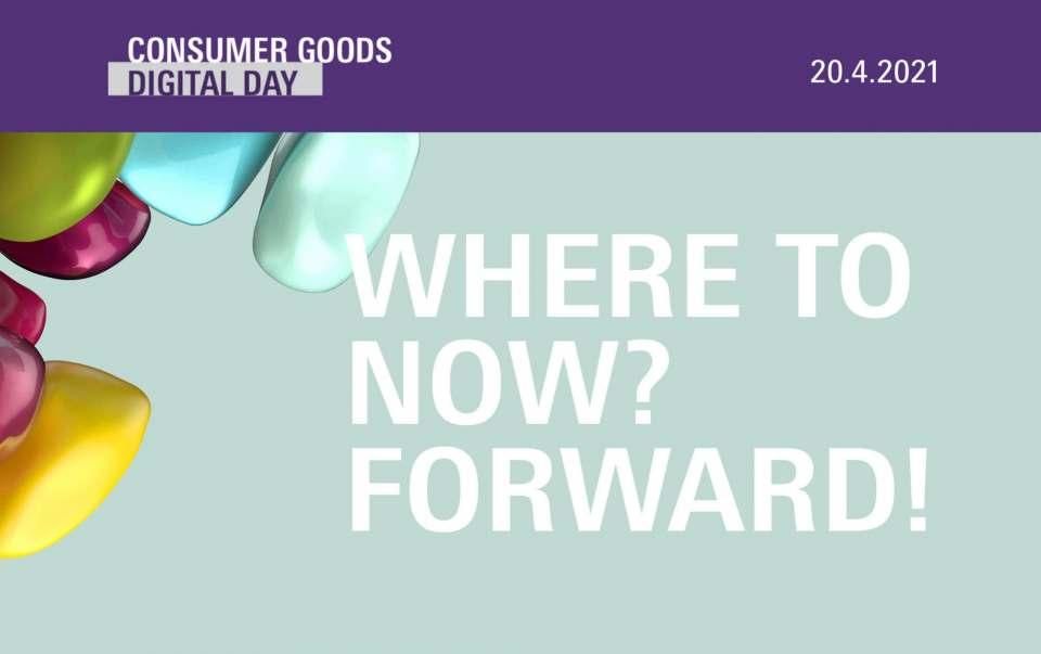 Will retten, was zu retten ist: Consumer Goods Digital Day.