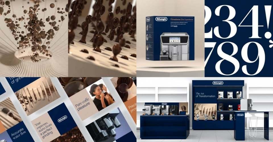 Verzichtet auf Revolution: Das neue Marken-Design von De'Longhi.