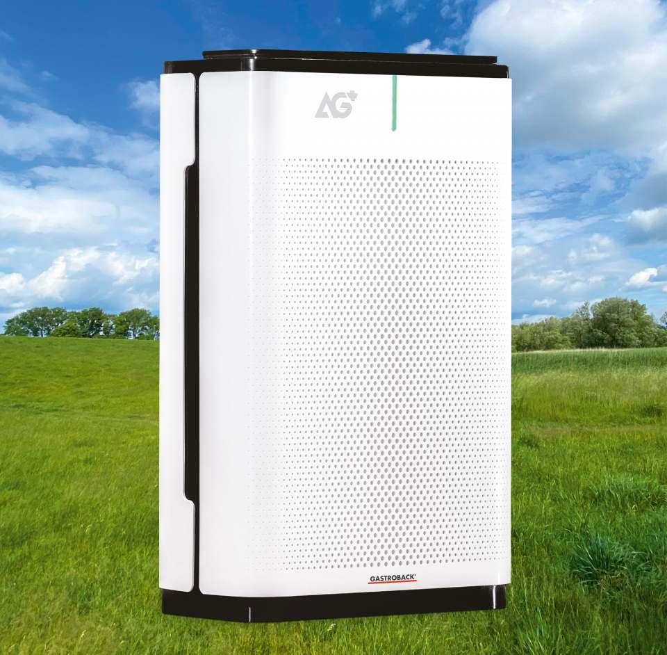 Gastroback Luftreiniger AG+ Airprotect mit Fünf-Stufen-Luftdesinfektion.