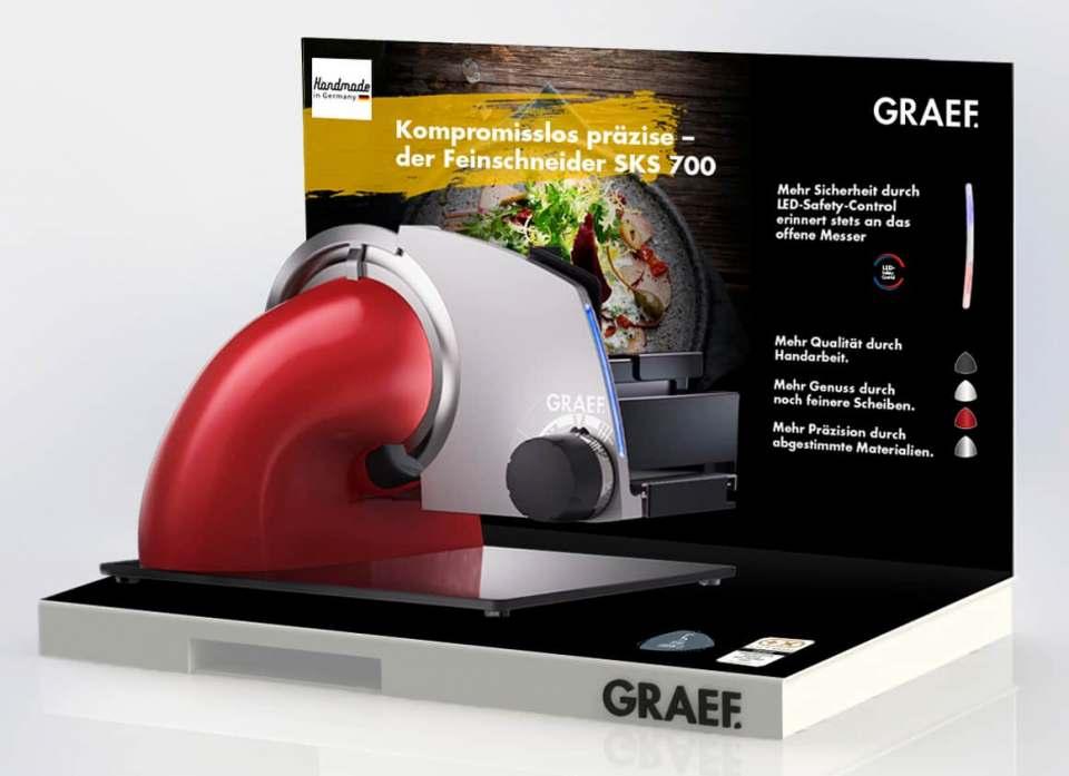 Nun auch im Handel erhältlich: Graef Feinschneider SKS 700.