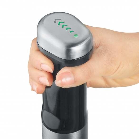 Dank der SteplessTocuControl lässt sich der HB 802 stufenlos per Fingerdruck steuern.