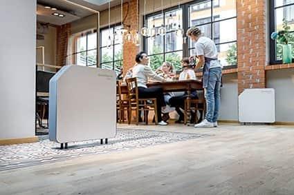 Hönle UV-Technology sieht die SteriWhite Air Q hauptsächlich im professionellen Einsatz wie in der Gastronomie.