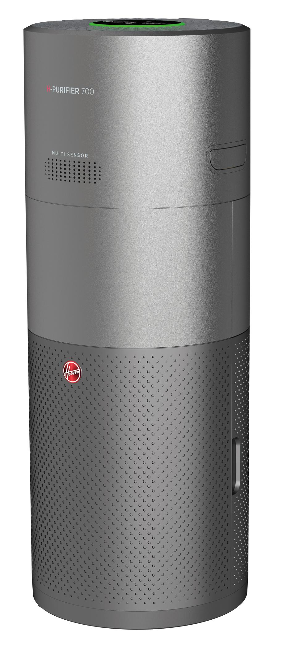 Hoover Luftreiniger H-Purifier 700 mit Diffusor für Essenzen oder Probiotika.
