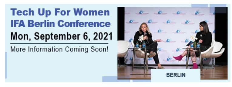 Von Frauen für Frauen: IFA Tech Up For Women.