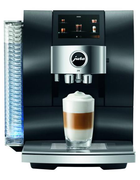 Jura Kaffeevollautomat Z10 mit Product Recognising Grinder.