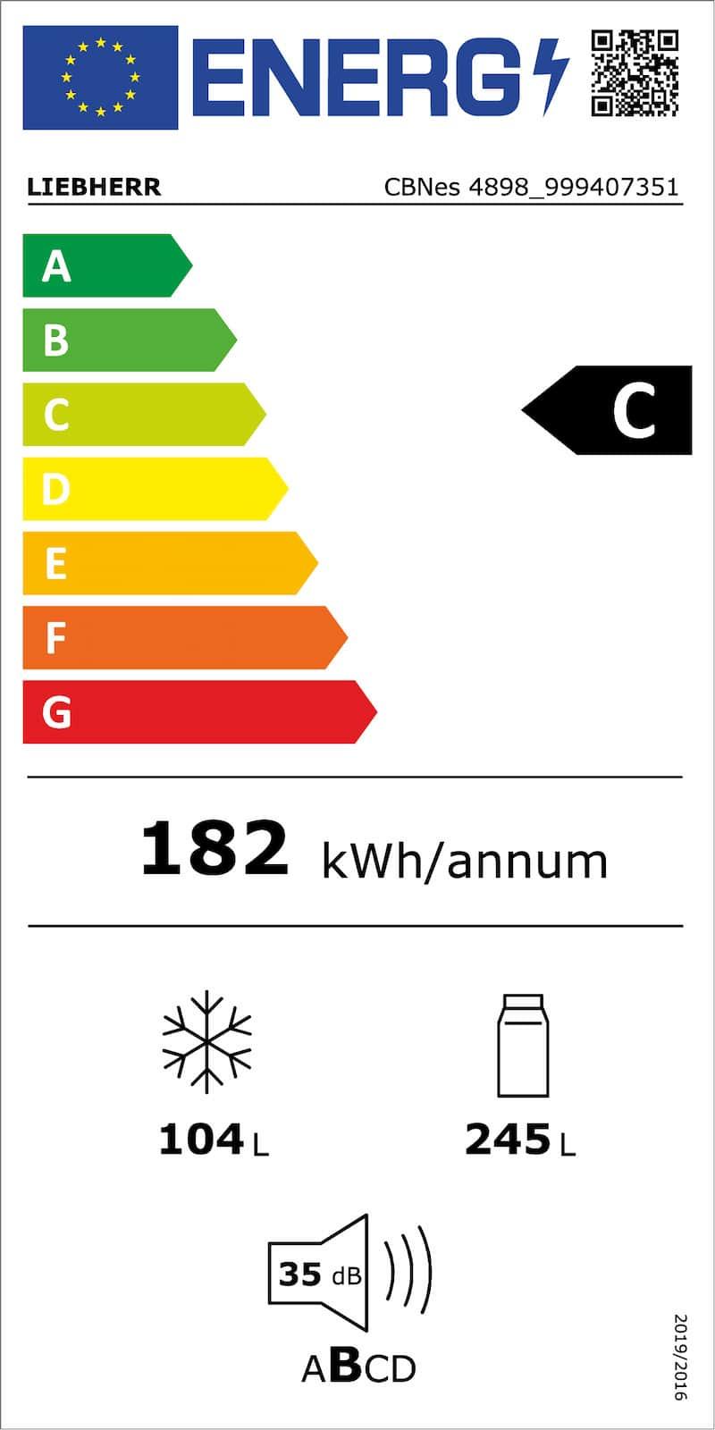 Das neue EU-Energielabel: Künftig wird die Energieeffizienz von Elektrogeräten wieder auf einer Skala von A bis G verteilt dargestellt.