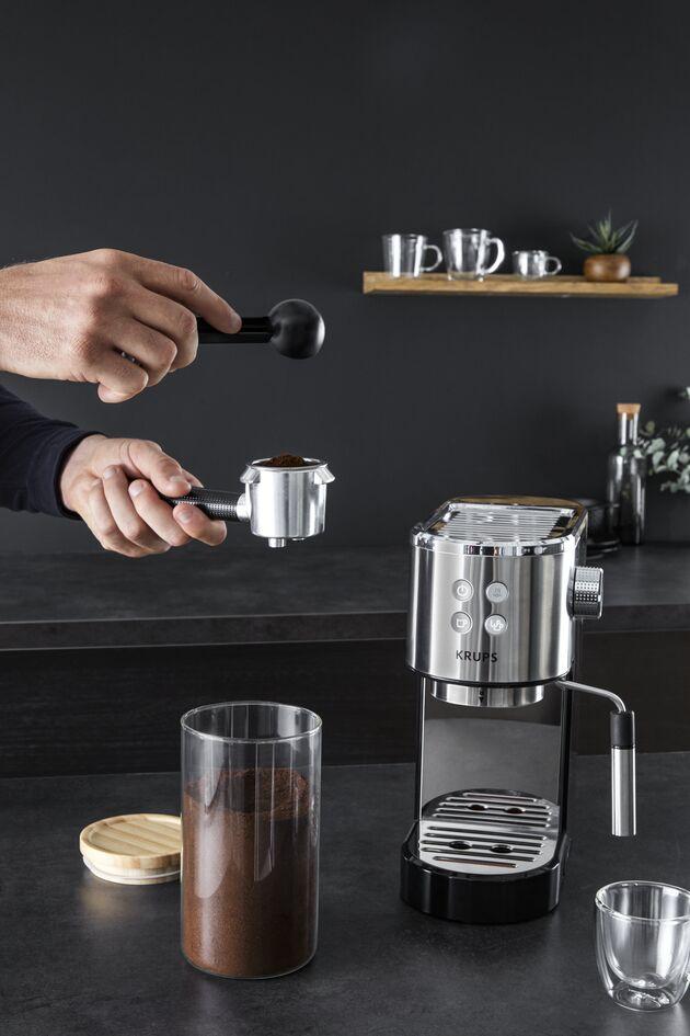 Die neue Krups Espressomaschine Virtuoso