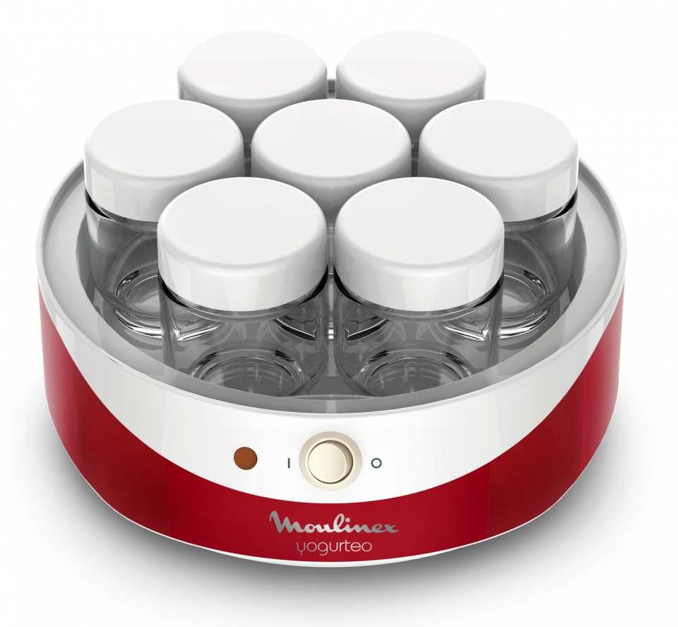 Moulinex Joghurtbereiter Yogurteo mit 7 Gläsern à 160 ml.