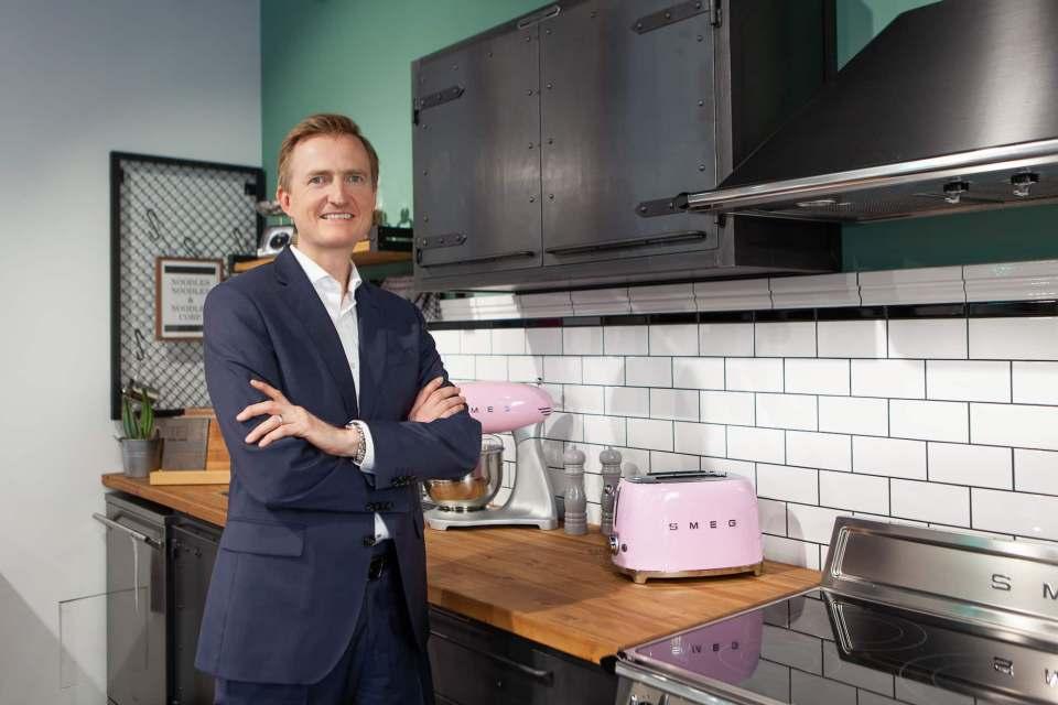 """""""Der Trend zu exklusivem, individuellem Design für zu Hause ist bei Kunden einfach stärker gefragt als hochkomplexe Vernetzungs-Features"""", Olaf Nedorn, Geschäftsführer Smeg Deutschland."""