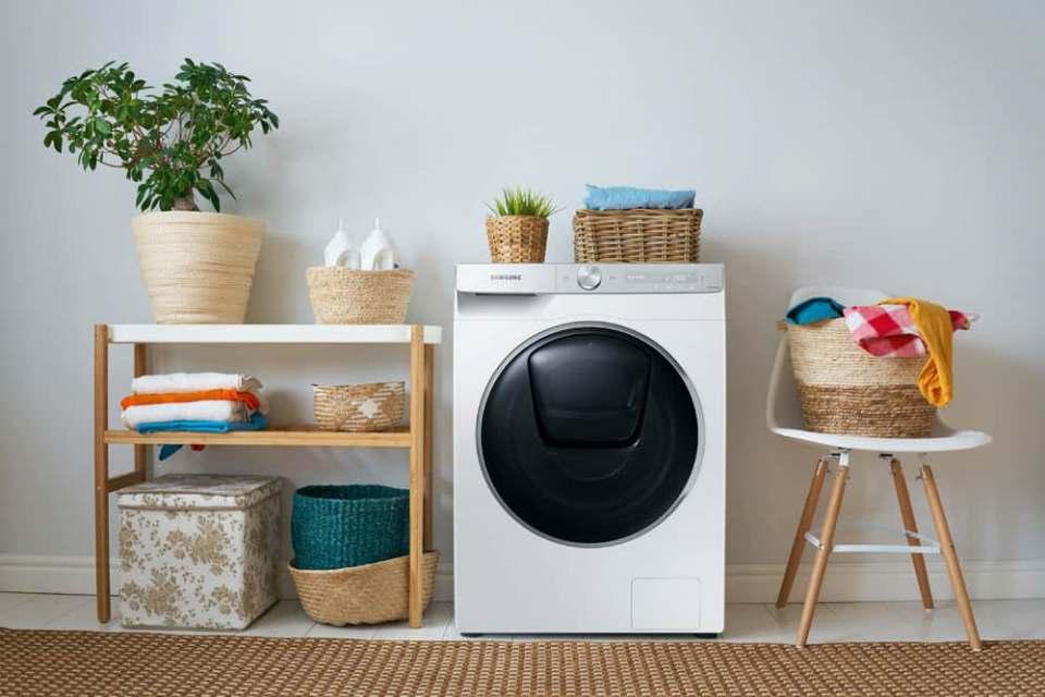 Neue Waschtrockner von Samsung mit viel Künstlicher Intelligenz.
