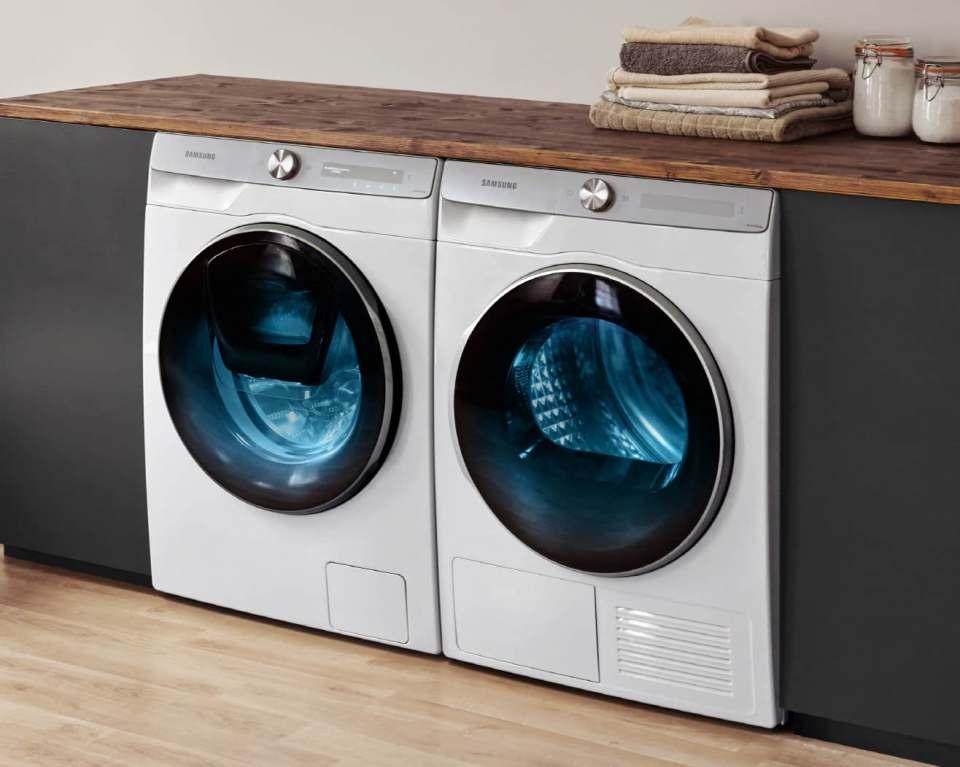 Neues Hygiene-Reinigungsprogramm für Samsung Waschmaschinen, Waschtrockner und Premium-Wärmepumpentrockner.