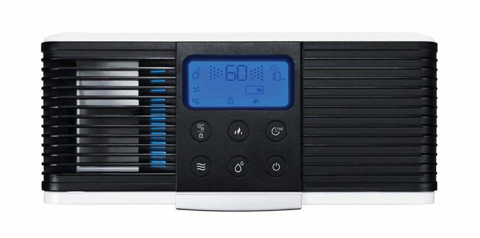 Einfache Steuerung bis hin zum Timer am Gerät – eindeutige Logos und das LCD erleichtern die Bedienung.