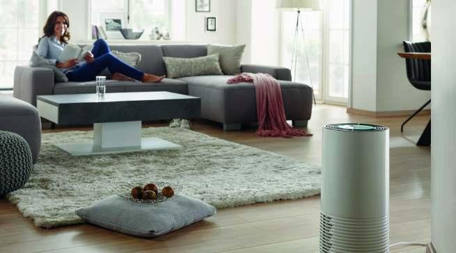 Der Soehnle Luftreiniger Airfresh Clean Connect 500 filtert Viren, Bakterien, Hausstaub und Gerüche aus der Luft und beseitigen 99,5% der Partikel.