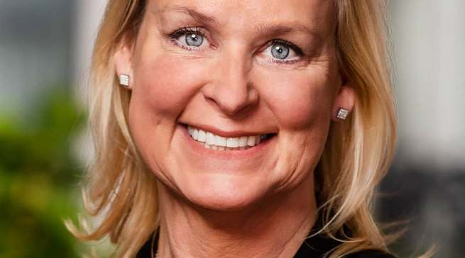 Hielt den Begrüßungsvortrag: Anna Ohlsson-Leijon, Electrolux CEO Business Area Europe.