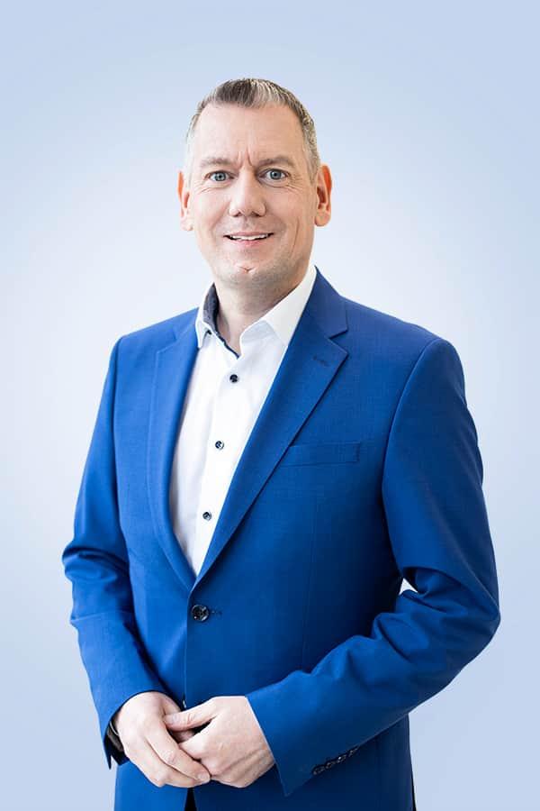 """""""Die Nähe zum Fachhandel ist und bleibt uns sehr wichtig"""", Thilo Dröge, Wertgarantie Vertriebsleiter."""