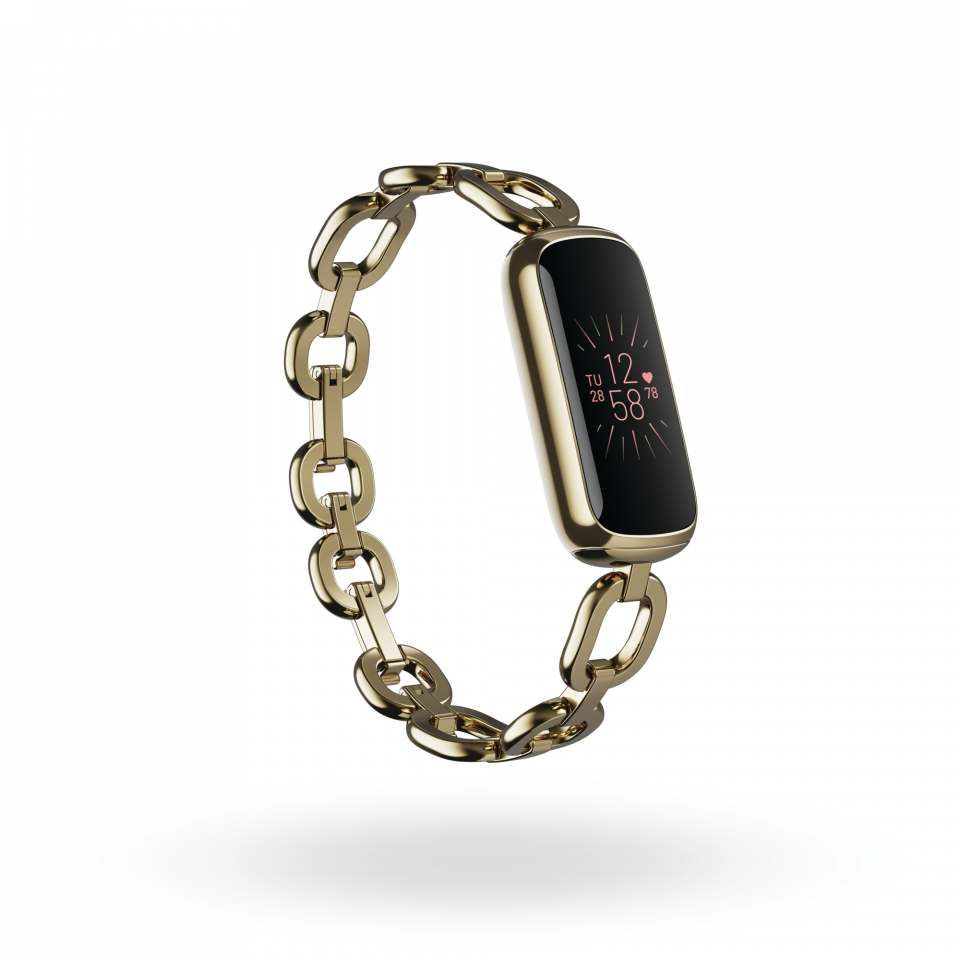 Fitbit Fitness Armband Luxe mit Stressmanagement-Tools.