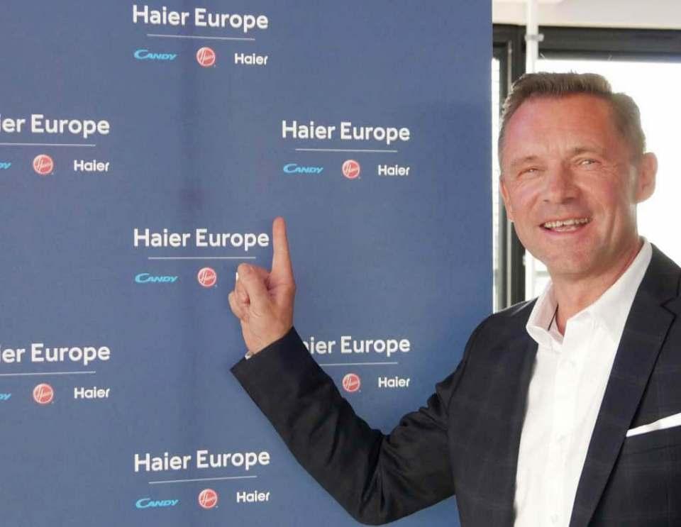 Haier will in Europa unter die Top 3: Thomas Wittling, Geschäftsführer Haier Deutschland GmbH und Candy Hoover GmbH.