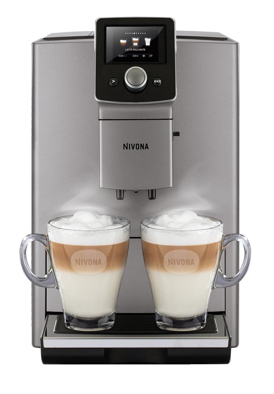 Nivona Kaffeevollautomat NICR 821 mit Big Picture Mode.