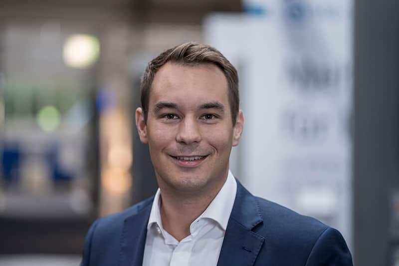 Marc Röder übernimmt die Verantwortung für die Kundenbeziehungen bei Trendfairs.