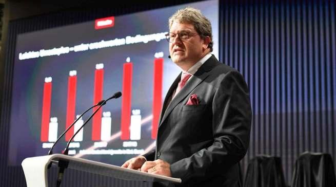 """""""Klar ist, dass die IFA unsere wichtigste Messe bleibt"""", Dr. Reinhard Zinkann, Geschäftsführender Gesellschafter der Miele Gruppe."""