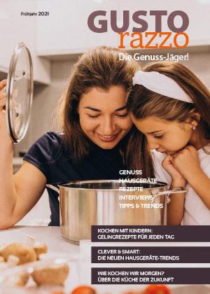eMagazin GUSTOrazzo Titelseite klein