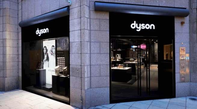Mönckebergstraße 10: Dyson setzt für den Innenstadt-Handel nach Köln und Oberhausen auch in Hamburg ein Ausrufezeichen. Foto: Dyson